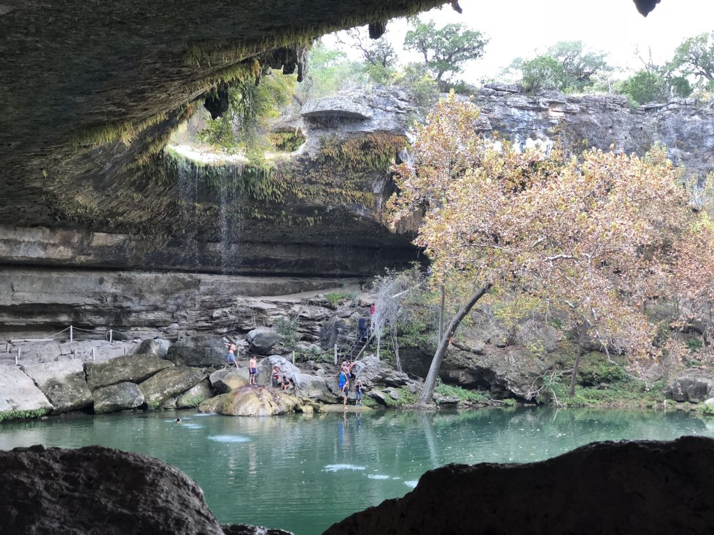 Hamilton Pool Travel Texas