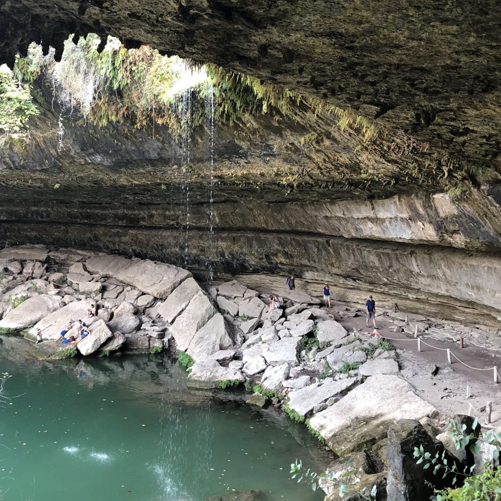 Hamilton Pool Texas Travel