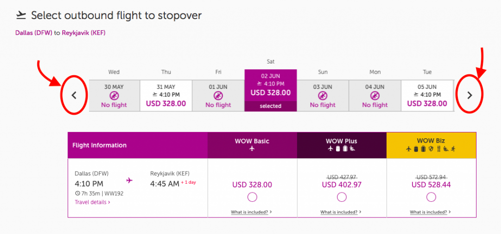 WOW Air Stopover Layover Travel Deals