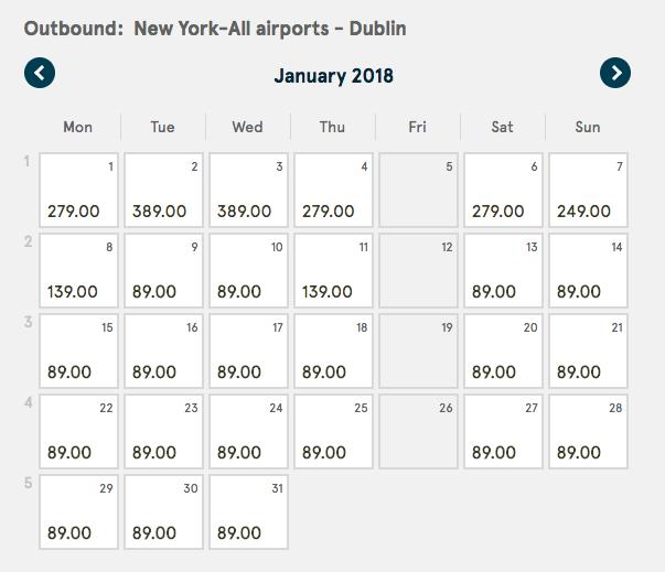 Dublin Travel Deal
