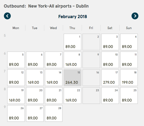 Dublin Travel Deal