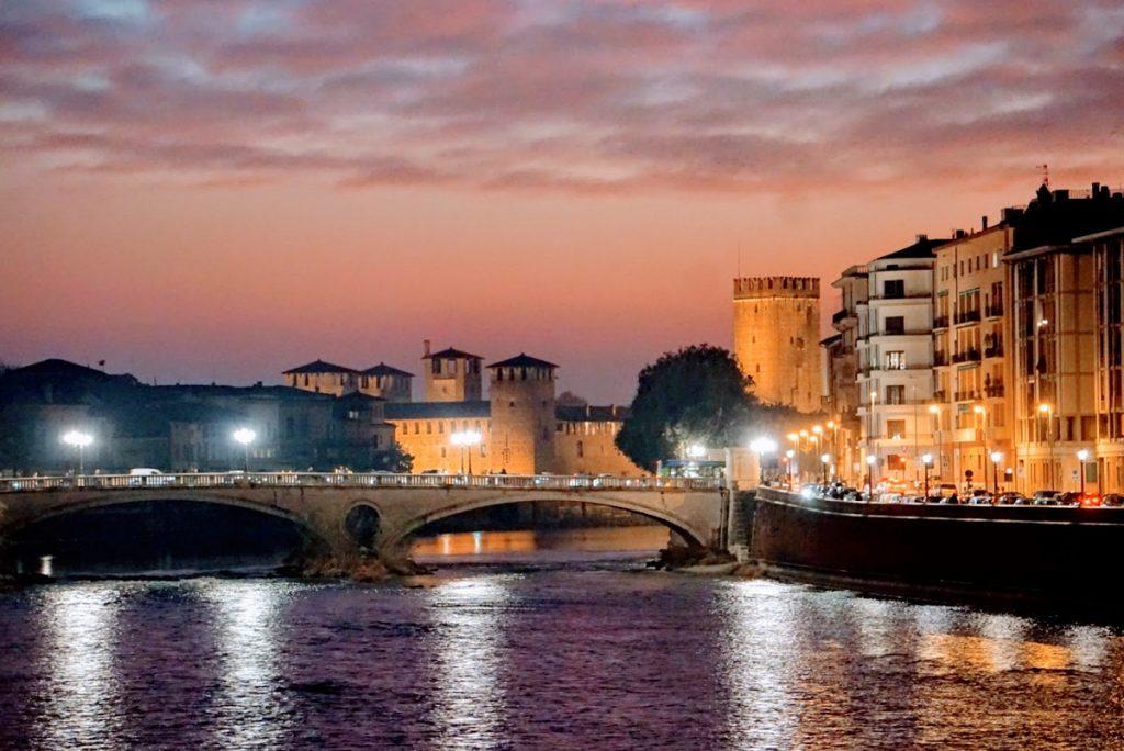 Verona Italy Sunset