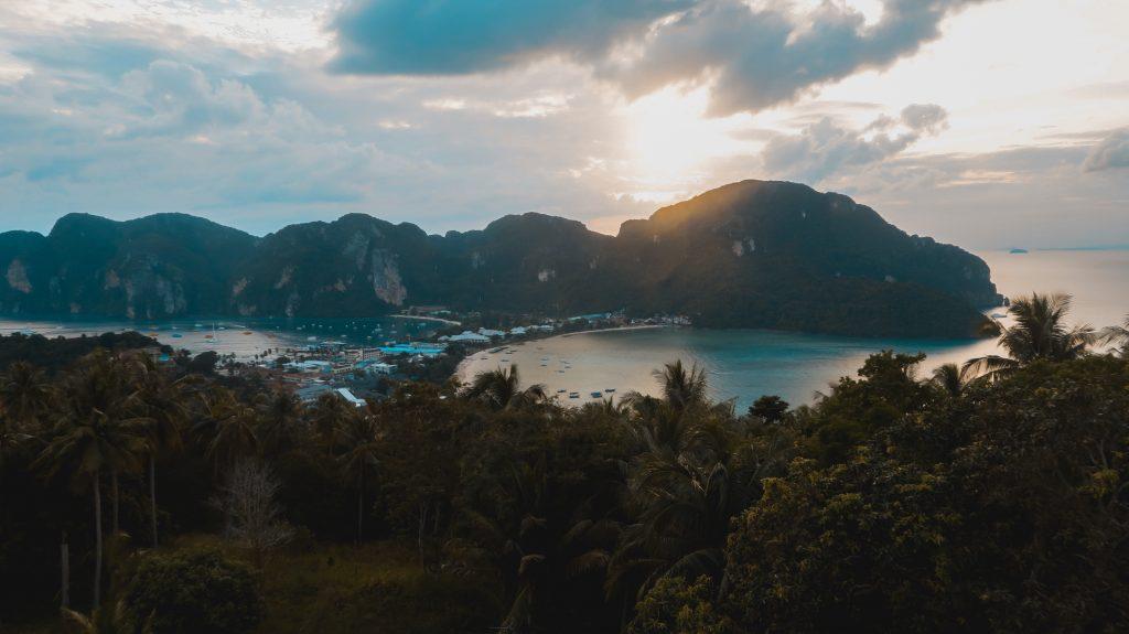 Phi Phi island, Thailand Sunset