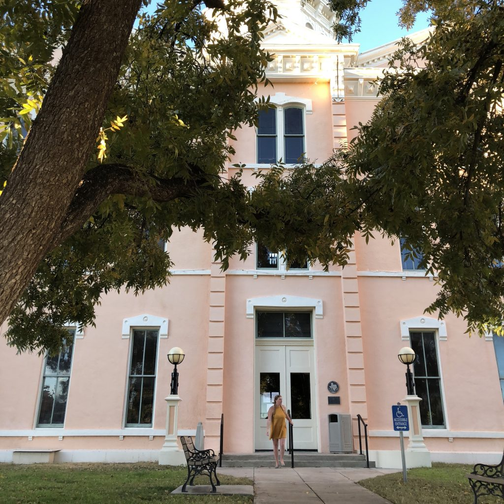 Marfa Texas Courthouse Travel