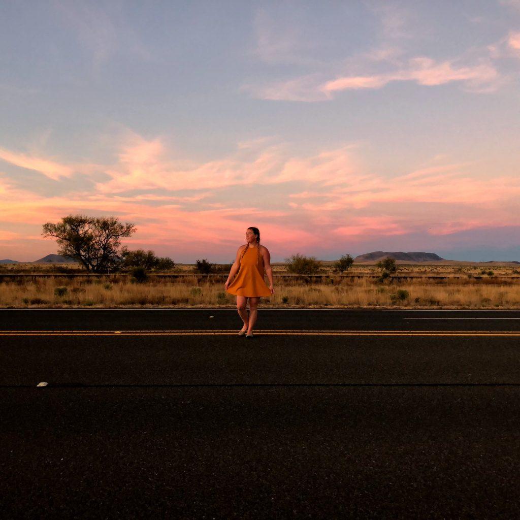 Marfa Sunset Texas Travel