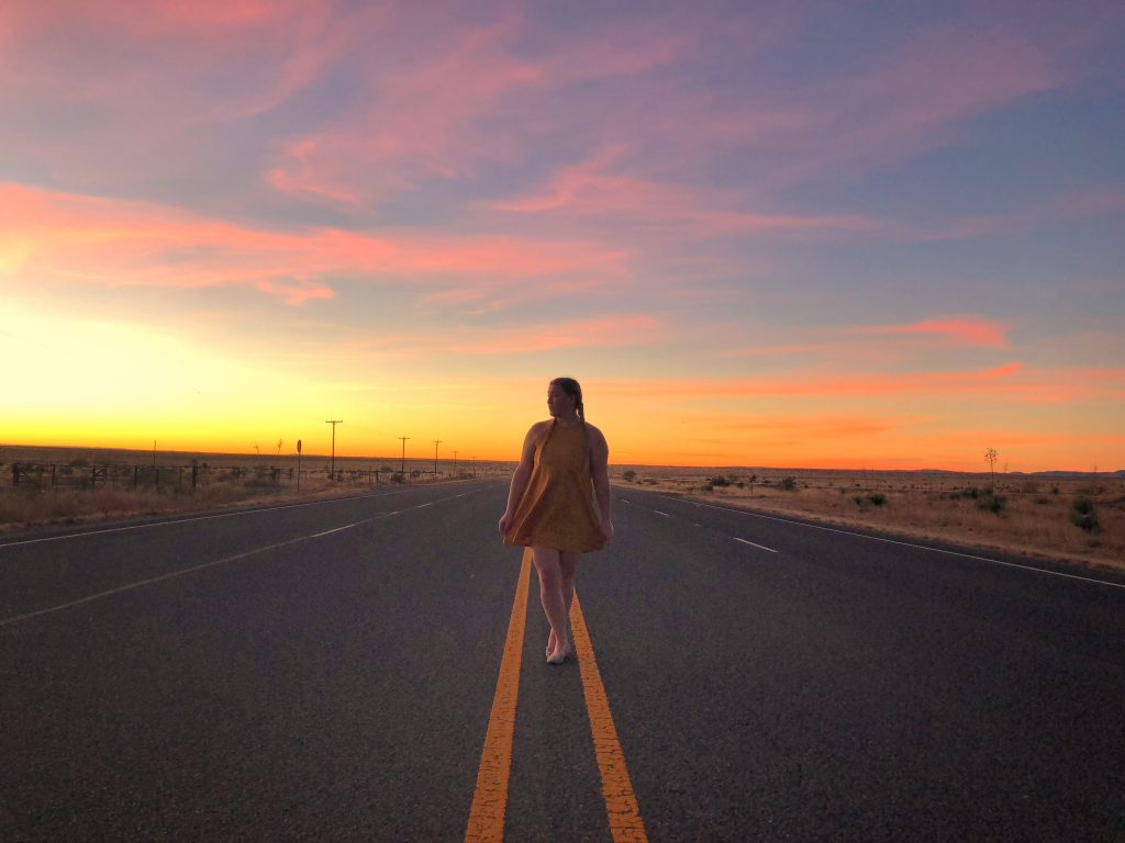 Marfa Texas Travel Sunset