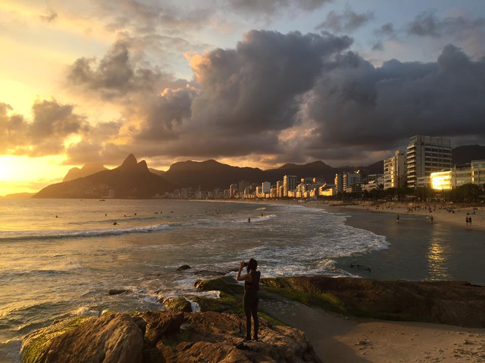 Arpoador, Ipanema Beach, Rio de Janeiro Sunset