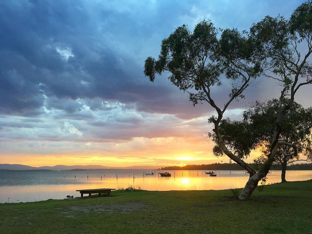 Forster, NSW, Australia Sunset