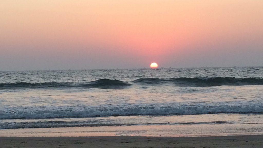 Mandrem Beach, Goa, India Sunset