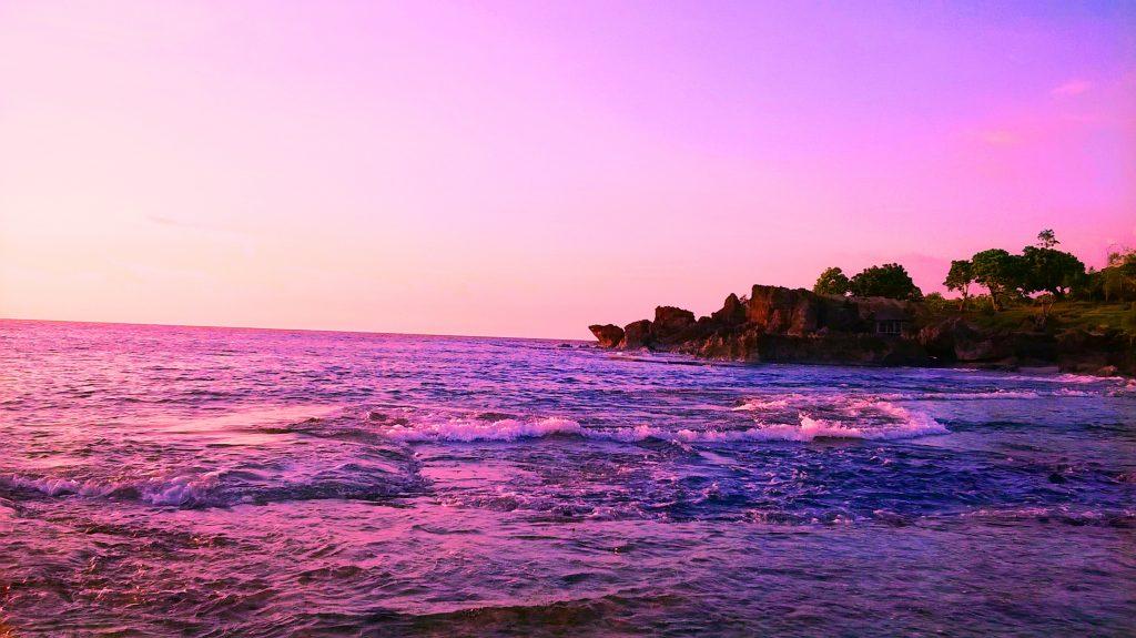 Cabongaoan Beach Burgos Pangasinan Philippines Sunset