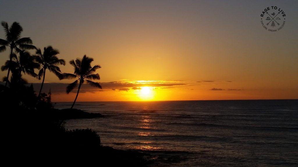 East Shore, Kauai Sunset