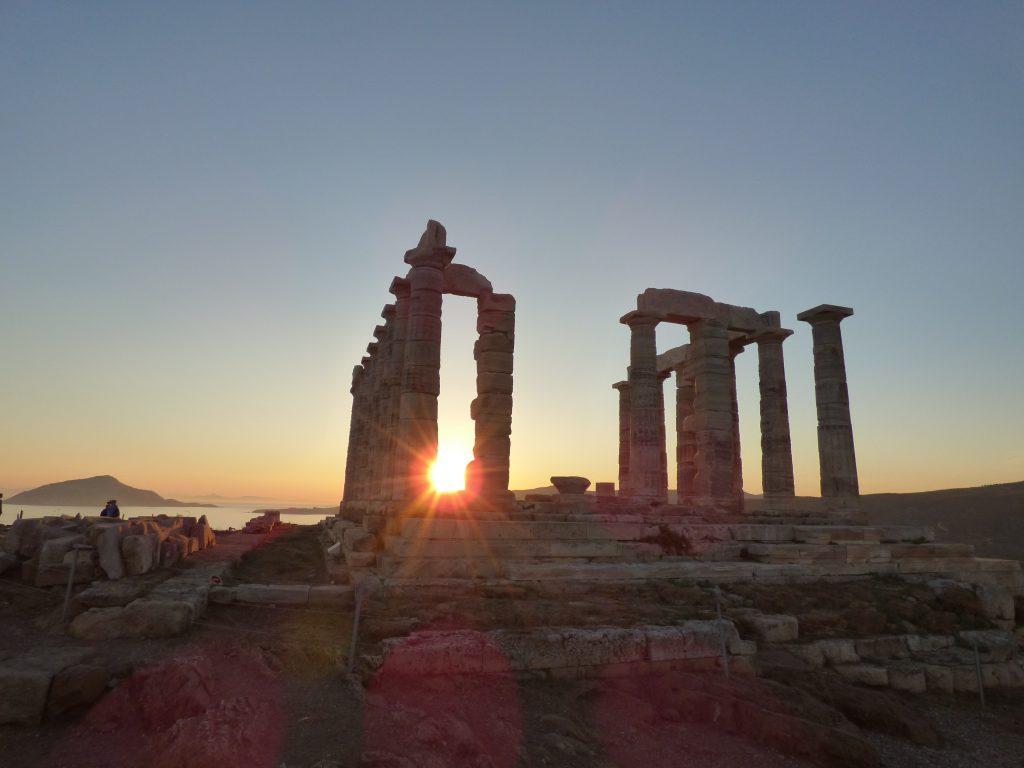 Cape Sounio, temple of Poseidon, Greece