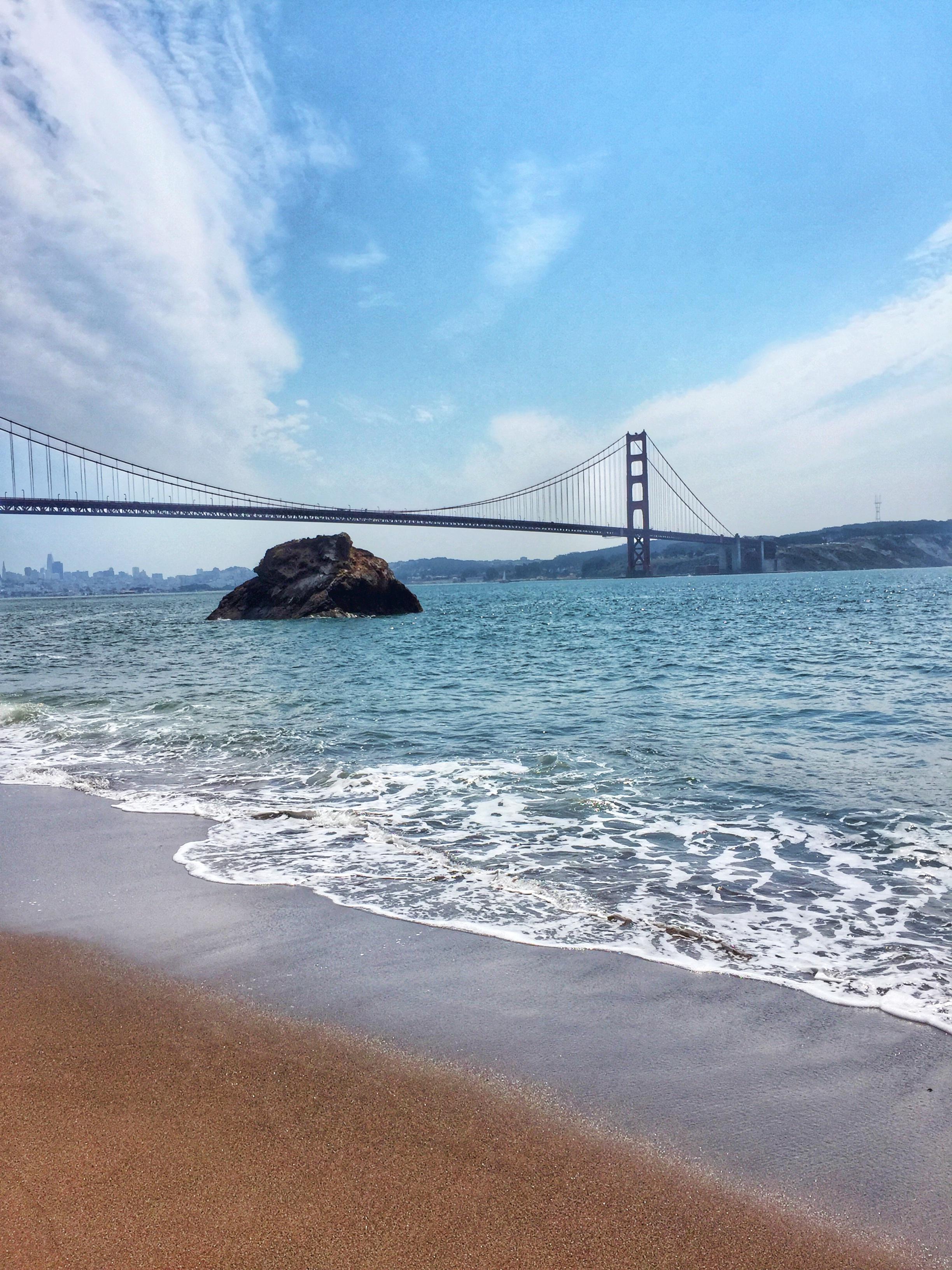 Golden Gate Bridge Beach