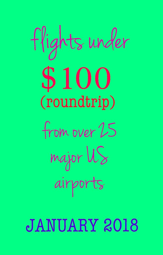 Cheap airfare deal