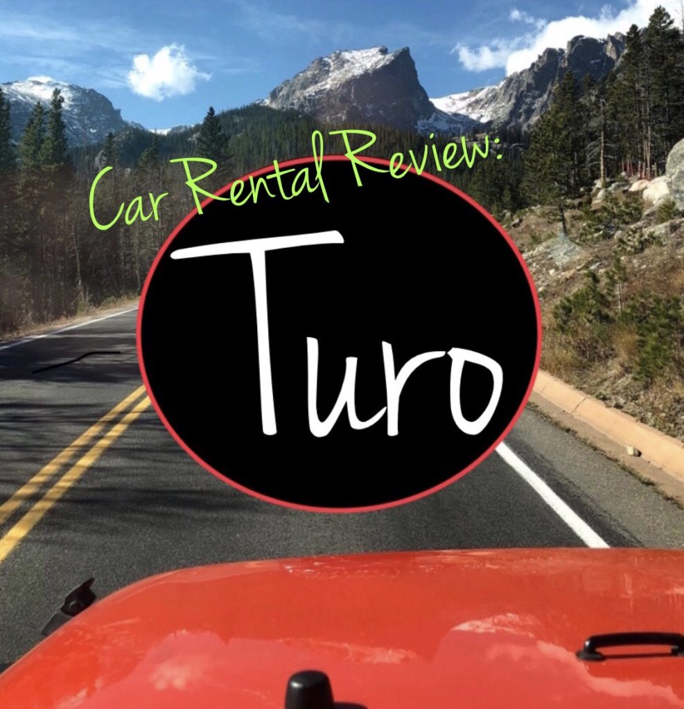 Turo app car rental review insurance age limit prices