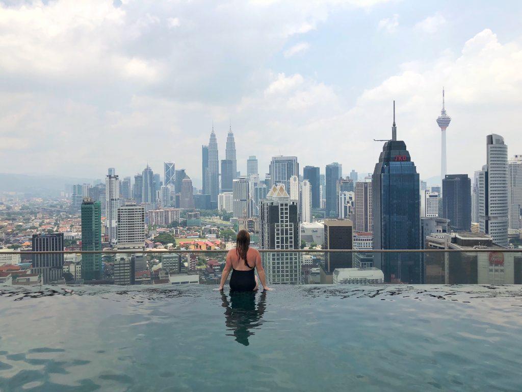 Infinity Pool in Kuala Lumpur