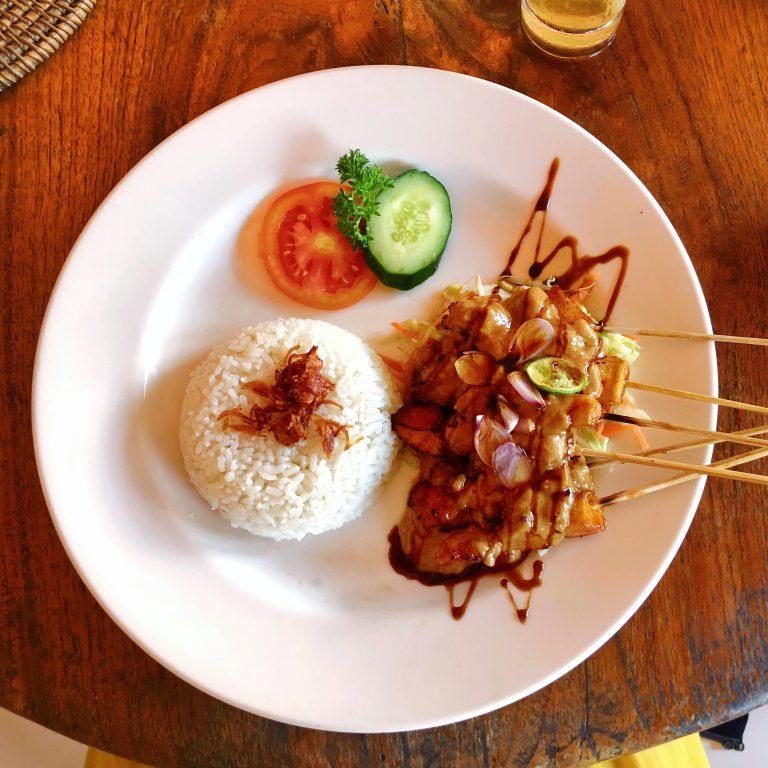 Kecak Cafe Ubud Bali Restaurant Wurang Indonesian Food