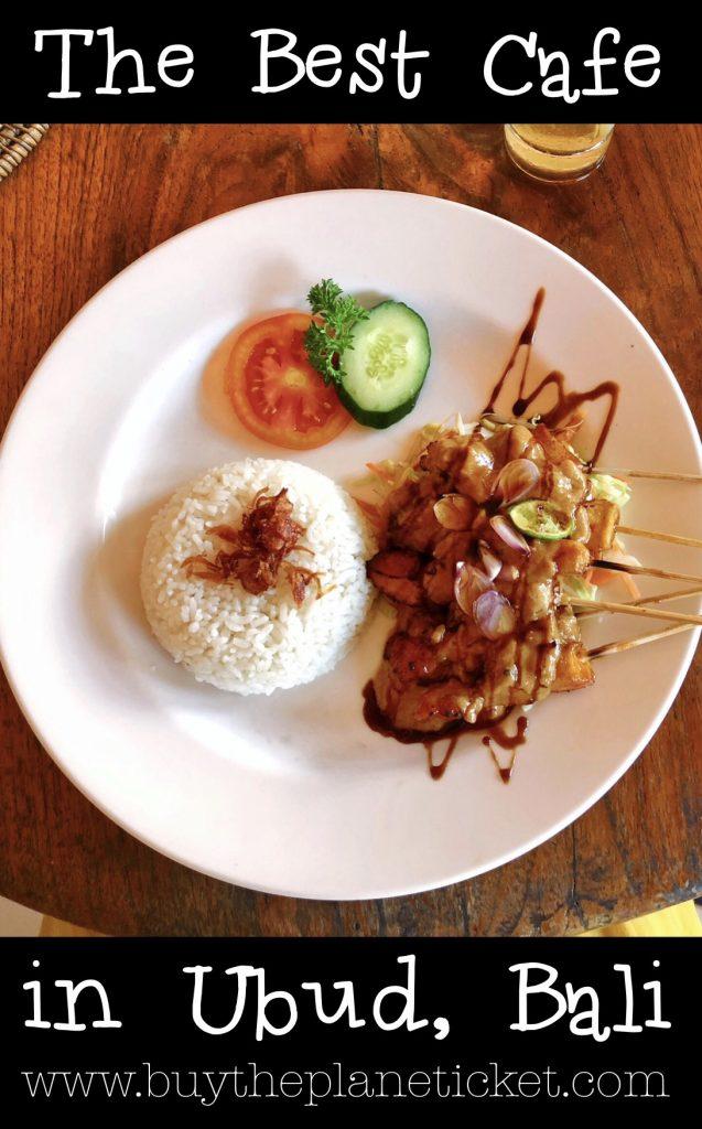 Kecak Cafe the best cafe in ubud bali indonesia