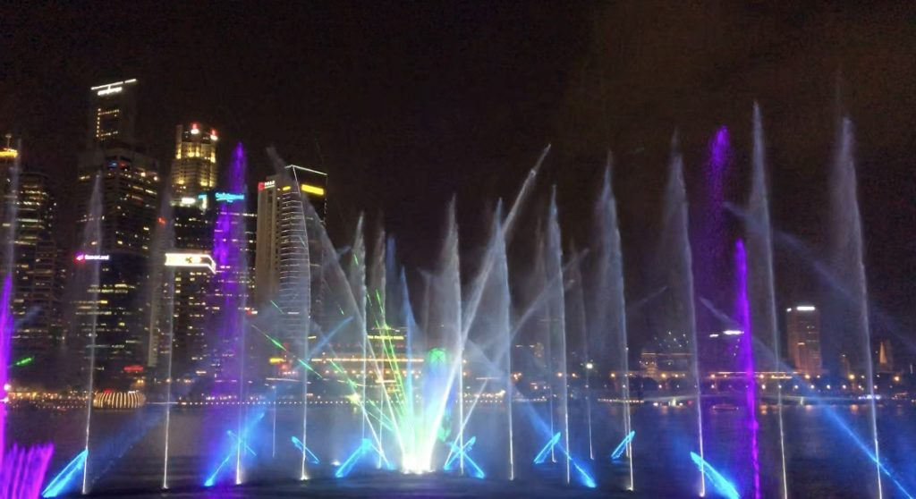 Marina Bay Sands Water Show