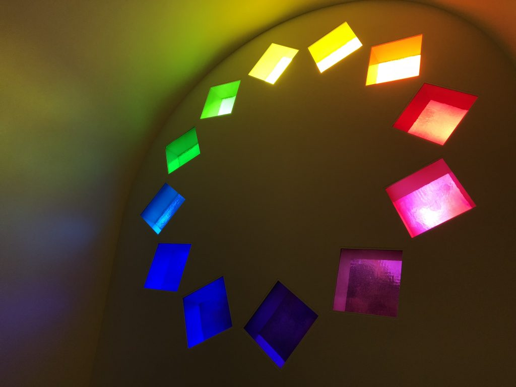 Blanton Museum of Art Austin Texas Ellsworth Kelly Interior