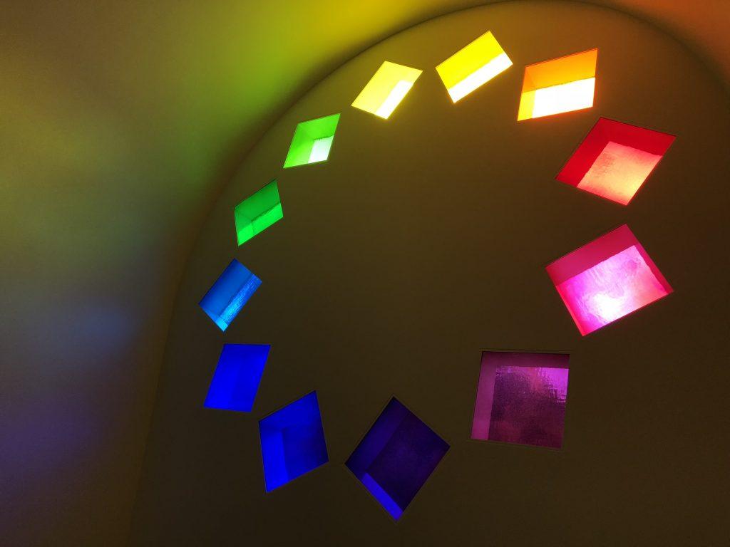 Blanton Museum of Art Austin Texas Ellsworth Kelly Interior