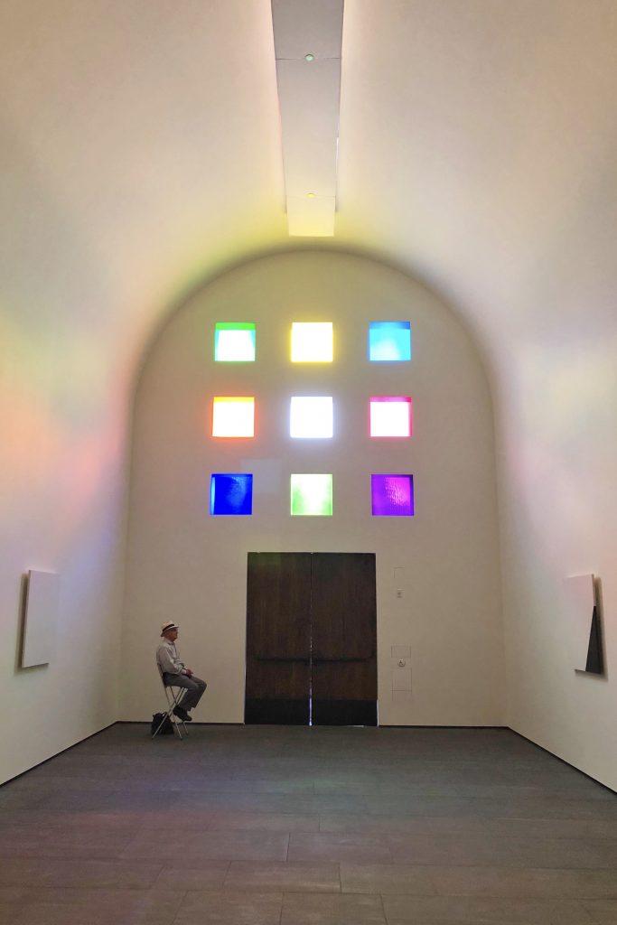 Blanton Museum of Art Austin Texas Ellsworth Kelly Interior View