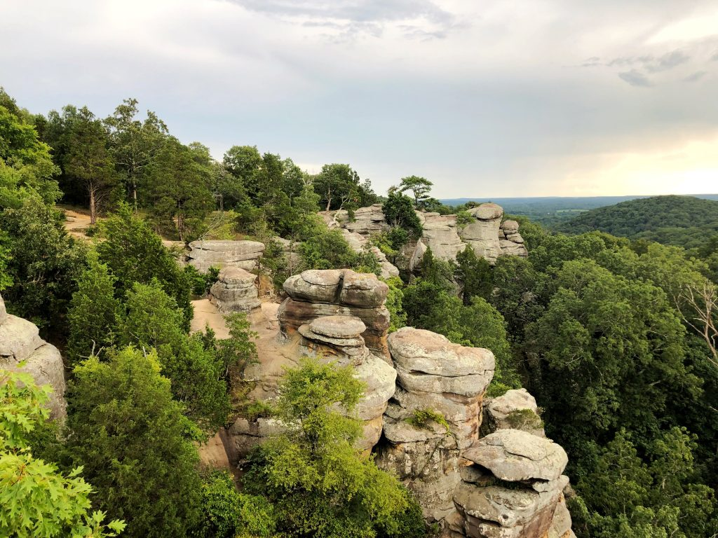 Garden Of The Gods In Southern Illinois Hiking Buy The