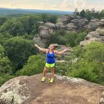 Garden of the Gods Southern Illinois Herod Shawnee National Forest Hiking Budget Travel