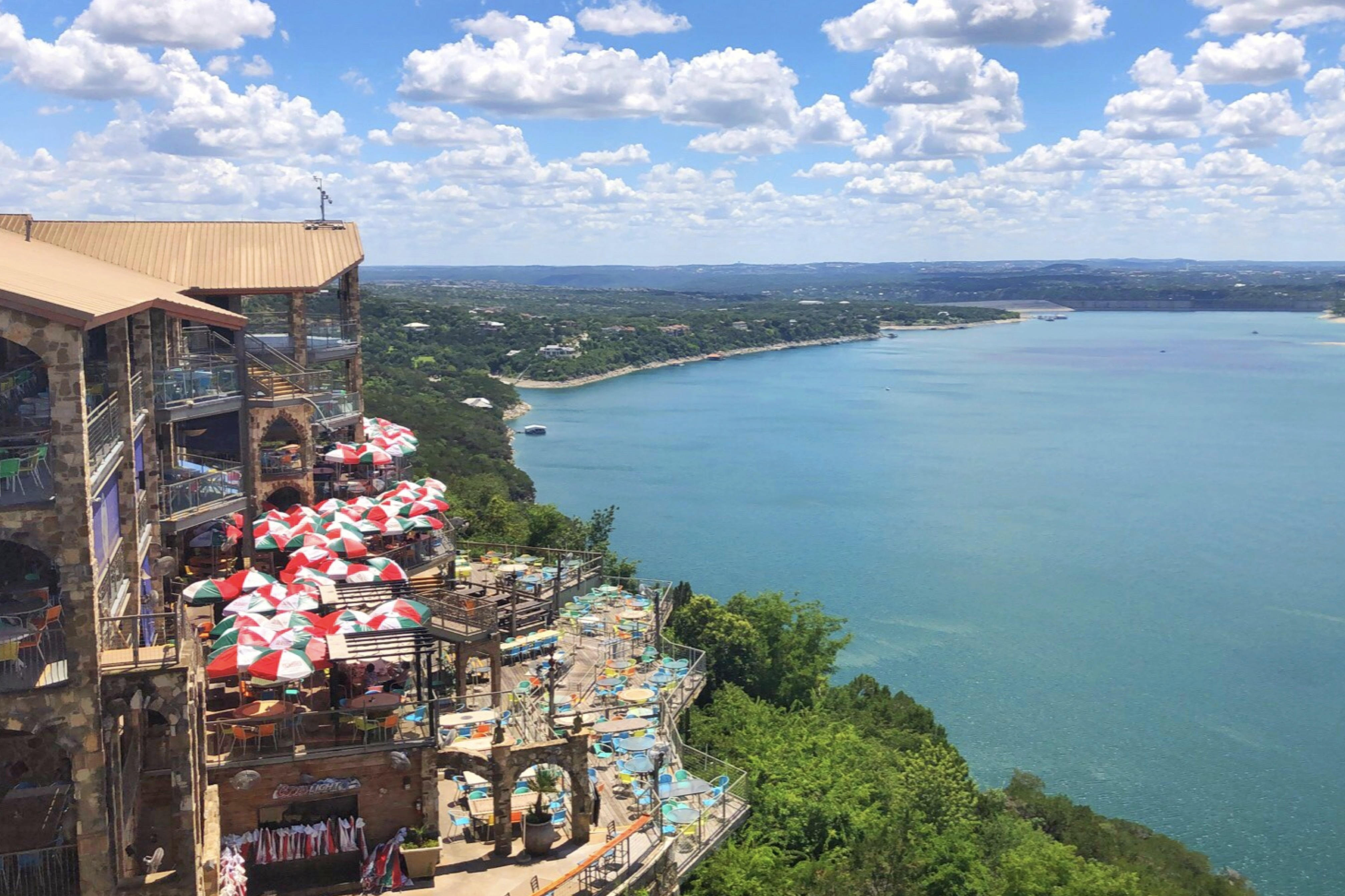 The Oasis Restaurant On Lake Travis In Austin Texas Plane Ticket