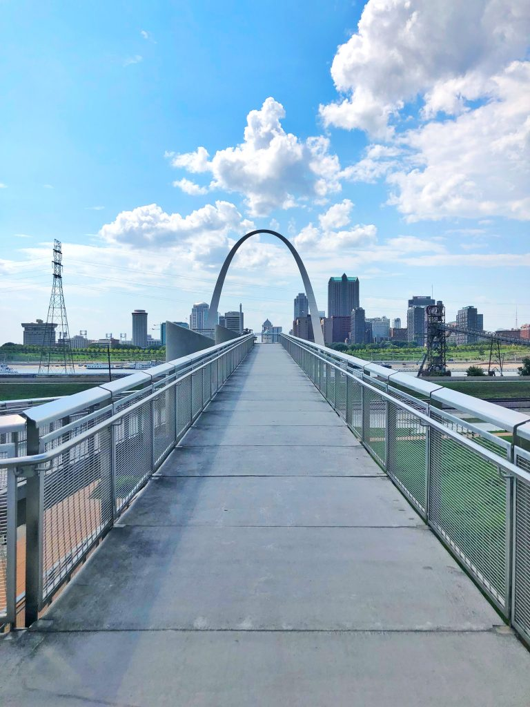 St. Louis Skyline View Malcolm W. Martin Memorial Park Things To Do Missouri Buy the Plane Ticket