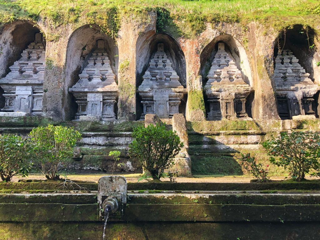 Gunung Kawi Temple Ubud Bali Indonesia Big Rocks
